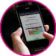 volledige mobiele interface rijlesplanner PlanRijles
