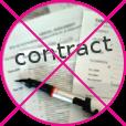 Geen contract bij rijschoolsoftware PlanRijles