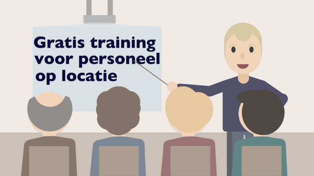 Flexpulse animatie Gratis training voor personeel op locatie