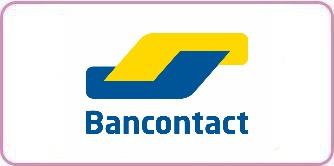 Bancontact logo kader