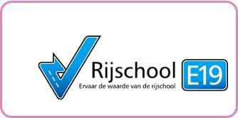 Logo rijschool E19