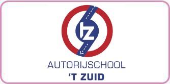 Logo autorijschool 'T Zuid