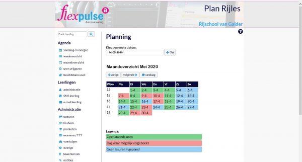 PlanRijles Planning